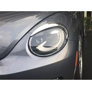 VW ザ ビートル/THE BEETLE ヘッドライト・アイライン/クローム 【IDFR】