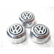VWエンブレム フォルクスワーゲン ナンバー・3Dロゴボルトカバー
